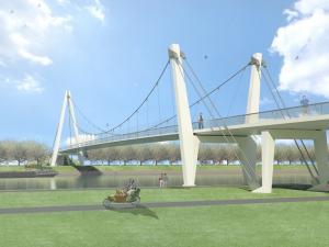De nieuwe Dafne brug