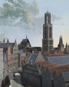 De Dom omstreeks 1440 Daan Claessen Erfgoed gemeente Utrecht